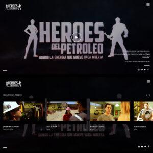Héroes del Petróleo - Web