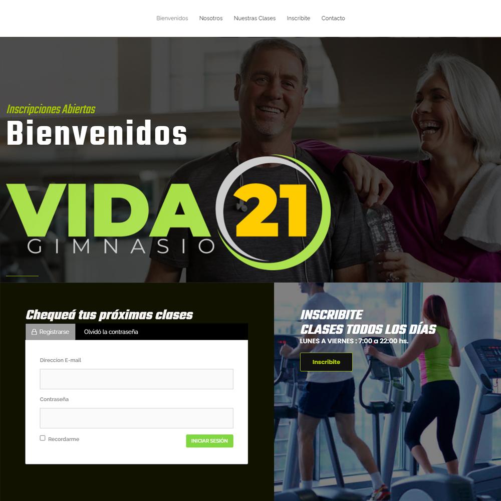 Vida21 - Web